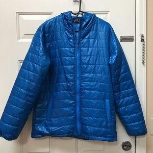 Lightweight Puffer Jacket Blue